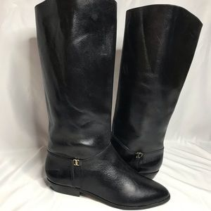 NWOT Etienne Aigner Leather Riding Boots